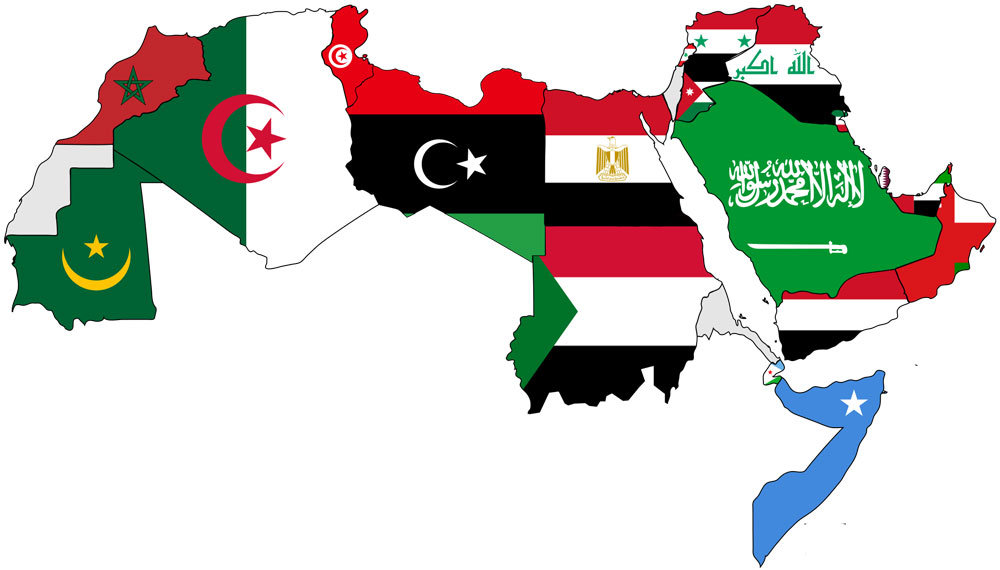 22 Arab countries covered with 1 translation!